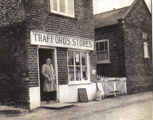 traffords store 1956