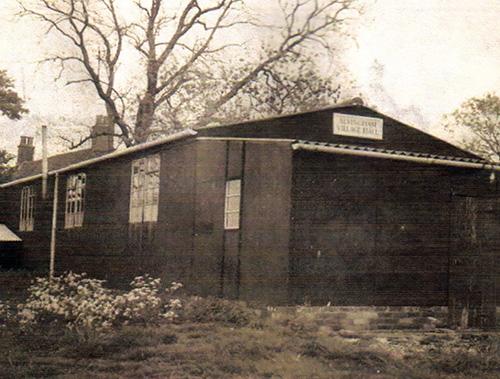 village hall 1956